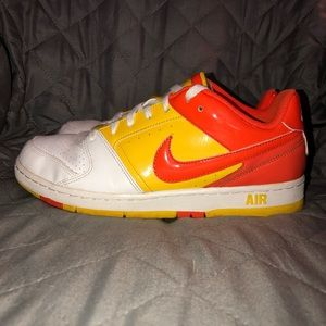 Rare Patent Leather Nike Shoes